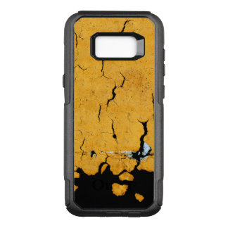 Cracked Yellow Road Paint OtterBox Commuter Samsung Galaxy S8+ Case