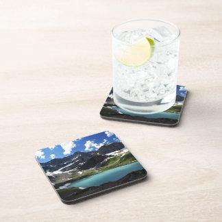 Cracker Lake Beverage Coasters