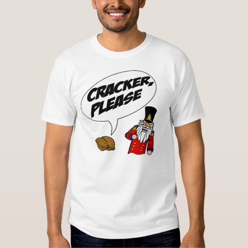 cracker please tee shirts