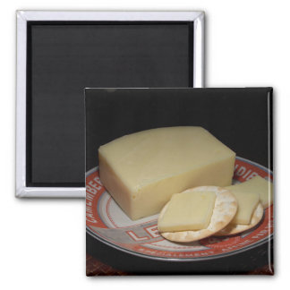 Crackers and Cheese Magnet