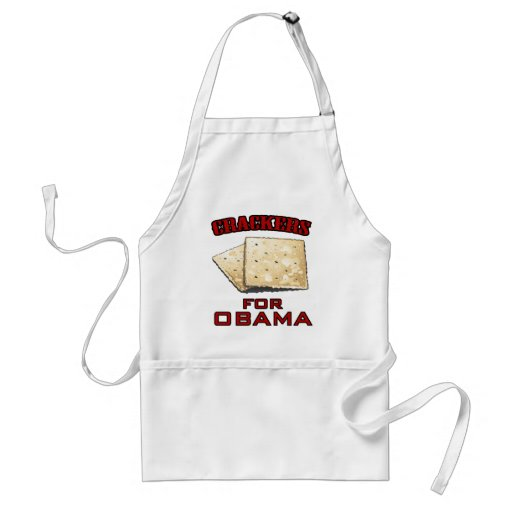 Crackers for Obama Apron