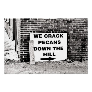 Crackin Down the Hill Poster