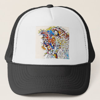 Crackle Kitty Trucker Hat