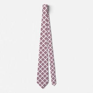Crackled Glass Birthstone Design June Alexandrite Tie