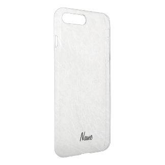 Crackled Glass Swirl Design - Pearl/Moonstone iPhone 7 Plus Case