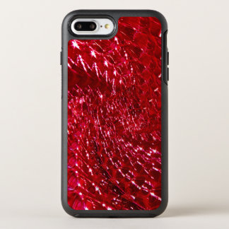 Crackled Glass Swirl Design - Ruby Red OtterBox Symmetry iPhone 8 Plus/7 Plus Case