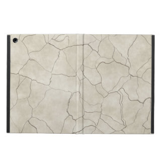 Cracks on Beige Textured Background iPad Air Case