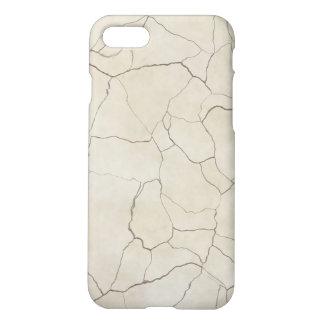 Cracks on Beige Textured Background iPhone 8/7 Case