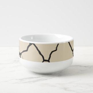 Cracks  Preto Soup Mug