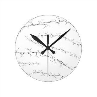 Cracks Round Clock