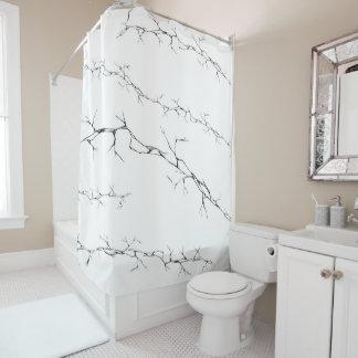 Cracks Shower Curtain