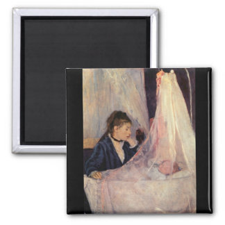 Cradle by Berthe Morisot Magnet