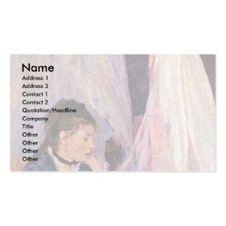 Cradle By Morisot Berthe Business Card Template