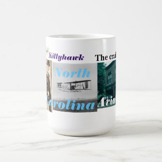 cradle of aviation basic white mug
