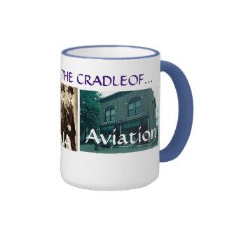cradle of aviation ringer mug