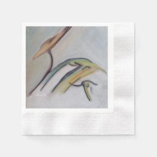 Cradle of Life Coined Paper Napkin