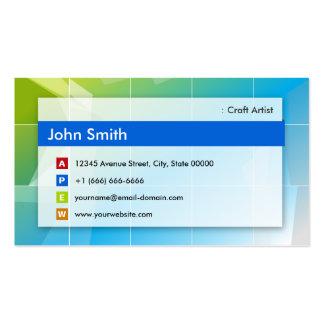 Craft Artist - Modern Multipurpose Business Cards
