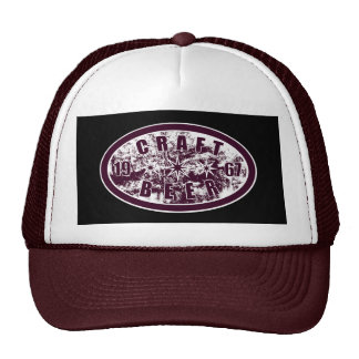 Craft Beer 1967 - Burgundy & White Cap