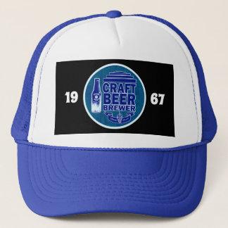 Craft Beer Brewer -1967 Blue Logo Trucker Hat