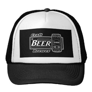 Craft Beer Brewer - Black & White Can 2 Cap