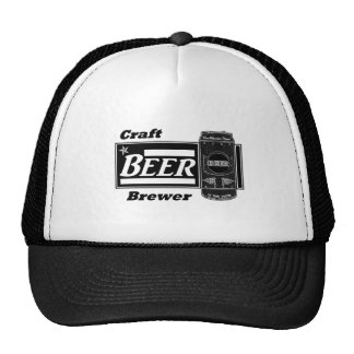 Craft Beer Brewer - Black & White Can Cap