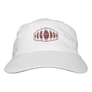 Craft Beer Brewer Cans- Maroon and White Hat