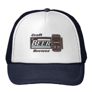 Craft Beer Brewer - Lite Blue & Black Can Cap
