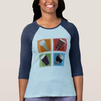 Craft Beer Colors Women's Raglan Shirt