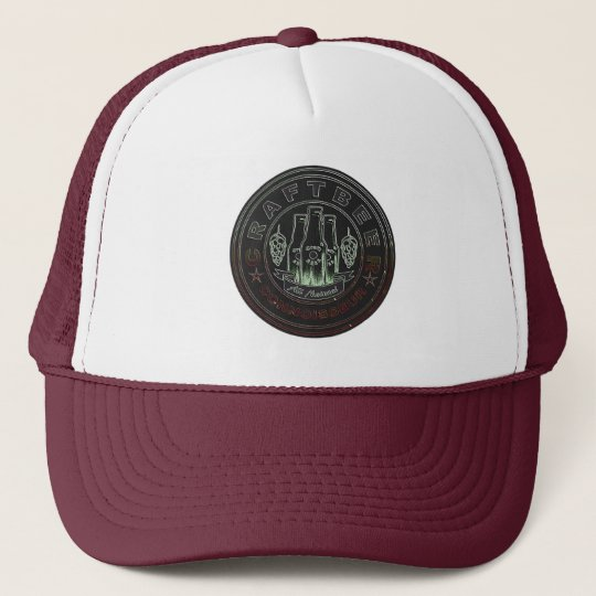 Craft Beer Connoisseur Hops Trucker Hat