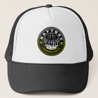 Craft Beer Connoisseur Yellow/White Bubbles 2 Trucker Hat
