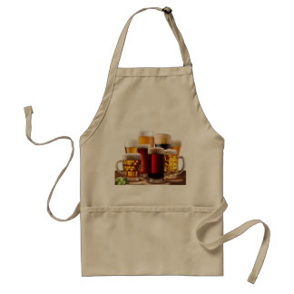 Craft Beers1 Aprons For Men