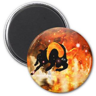 Craft Dungeon Zodiac - Aries 6 Cm Round Magnet