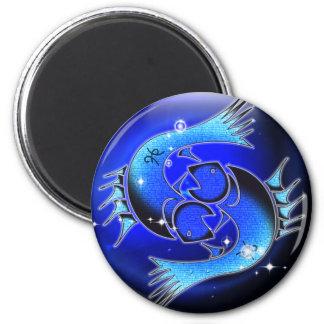 Craft Dungeon Zodiac - Pisces 6 Cm Round Magnet