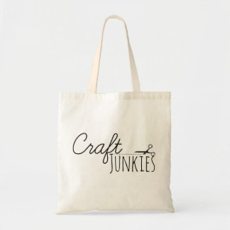 Craft Junkies Tote Bag