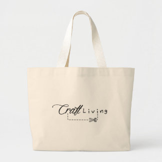 Craft Living Logo Large Tote Bag
