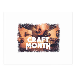 Craft Month - Appreciation Day Postcard