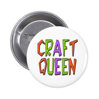 Craft Queen 6 Cm Round Badge