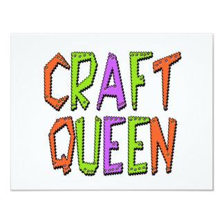 Craft Queen Custom Invitations