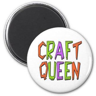 Craft Queen 6 Cm Round Magnet