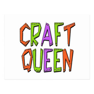 Craft Queen Postcard