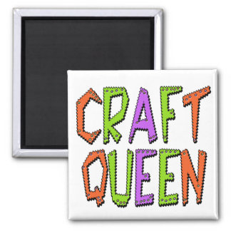 Craft Queen Square Magnet