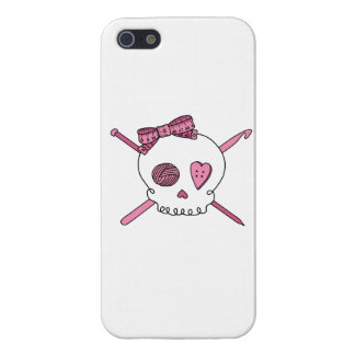 Craft Skull (Pink) Case For The iPhone 5