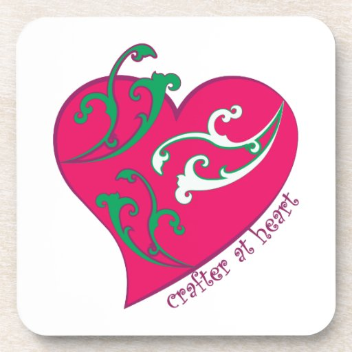 Crafter at Heart Beverage Coaster