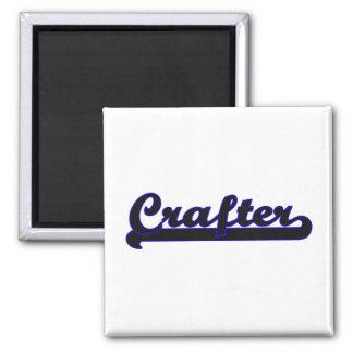 Crafter Classic Job Design Square Magnet