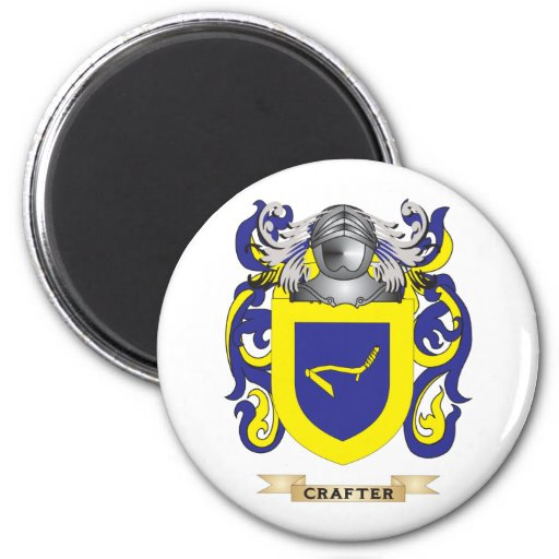 Crafter Coat of Arms Refrigerator Magnets
