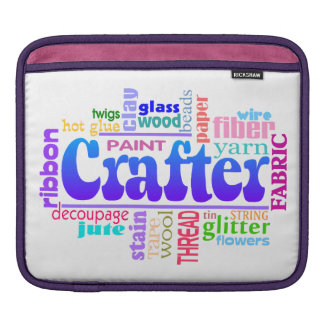 Crafter iPad Sleeve Case