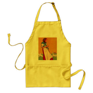 CRAFTER'S APRON CRAFTING CRAFT CALMING PASTORAL