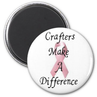 Crafters Make a Difference Magnet