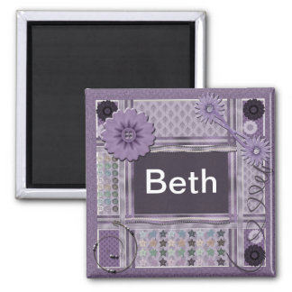 Crafting Enthusiast Square Magnet