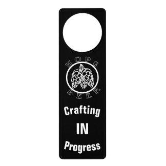 Crafting In Progress Door Hanger